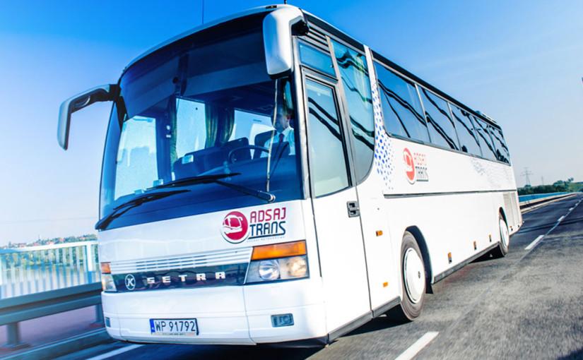 Autobusy Płock, wynajem autokarów i busów przez ADSAJ TRANS